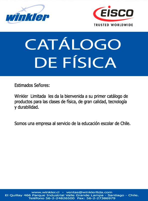 Catálogo Winkler Física educacional